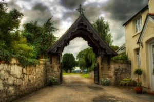 St Mary's Church Entrance by Mitch1969