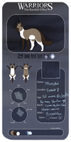 Mosspool | StarClan / SkyClan | TRE by Catosmosis
