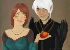 fenris hawke apple comm by myks0