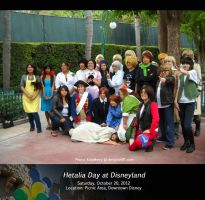 Official Hetalia Day 2012 at Disneyland by KatyMerry