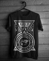 T Shirt Design - Mark Of The Beast by seventharmy