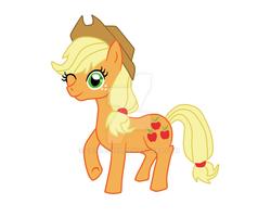 AppleJack - first try -Remade by CatDasher