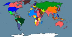Political World map 1914 by GeneralHelghast