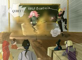 Narusaku Week: Old age by Celious