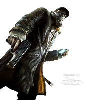 Watch Dogs - Aiden Pearce Body Render by VaasCARV3R