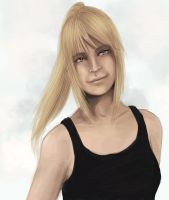 Speedpaint Stylized Winry by Jessimie
