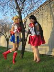 Sailor Scouts! by EtherealOwl