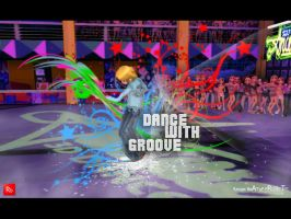 Dance With The Groove by rangerbeatup