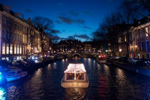 AMSTERDAM AT NIGHT by BlonderMoment