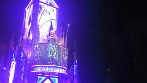 Disneyland's Paint The Night Parade: Elsa by HavingHope5