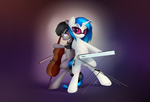 Vinyl and Octavia by Wreky