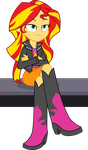 Sunset Shimmer is not amused... by seahawk270