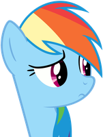 Rainbow Dash worried Animation by Myardius