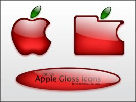 Apple Gloss Icons by jatin