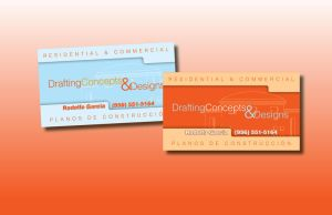 Draftin Concepts business card by kwant