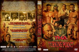 TNA Turning Point 2013 DVD Cover by Chirantha