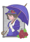 Victorian Lady - Colours by ScarletLeonard