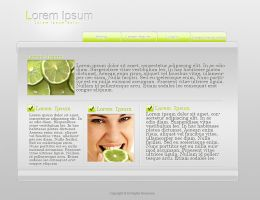Lime Website by maumorado