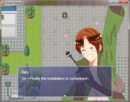 [APHXRPG] Hetalia Fantasia - Screenshot Preview 1 by Akiraka-chan