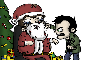 Dan Vs. Christmas by Zesty-Tacos