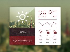 Weather dashboard v2.psd by JakubSpitzer