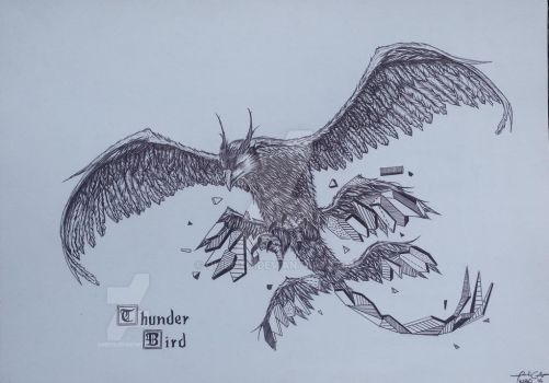 Fantastic beast Thinderbird by quiboto