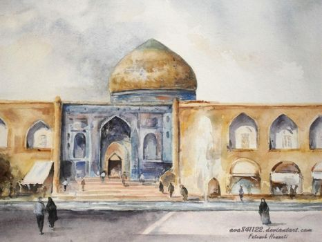 Sheikh Lotf Allah Mosque by ava841122