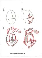 DRAWING WARNER SHAPED HEADS Part 2 by Tigerstar2000