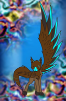 Winged Cat Adoptable by CatAndWolfAdopts112