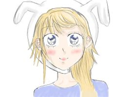 shoujo fionna by hetaliaminion