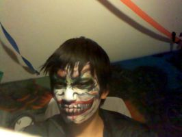 My scary Face XP by kingpoopy