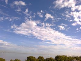 The Clouds and Me - The River Tejo-2012-18-09-01 by Kay-March