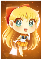 Chibi Sailor Venus by Bunnyloz