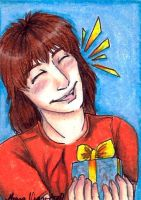 Deaky Present ACEO by HappyChupacabra