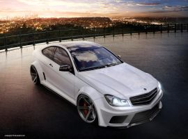 Mercedes C63 AMG Wide Body. by JAdesigns75