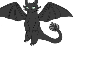 Toothless by Torchie-1