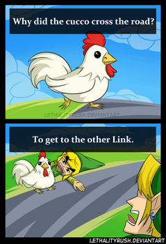 Cucco Crossing by Lethalityrush