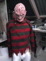 Freddy Krueger  nearly there by XtcofPain