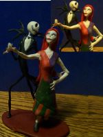 Jack and Sally by hatredtheblack