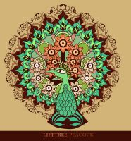 Lifetree Peacock by dream-logic