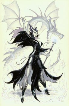 Maleficent by MichaelDooney