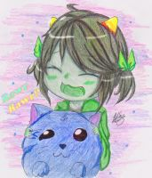 Lil Nepeta -color by Monche-chi