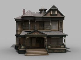 victorian house by toneloperu