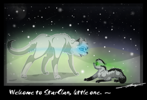 Welcome to Starclan, Little One by Dawnfirelunah
