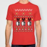 8 Bit Christmas Shirt by telegrafixs