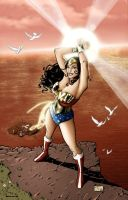 Wonder Woman colouring job 2 by james-t