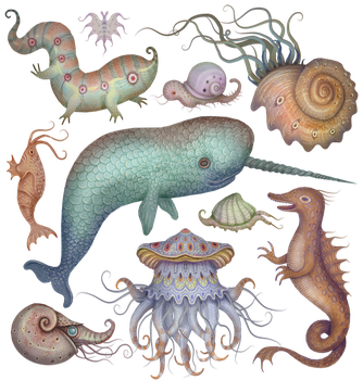 Creatures of the Whim-sea by V-L-A-D-I-M-I-R
