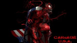 Carnage U.S.A. by zosco