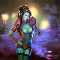Age of Champions Bad Girl by anotherdamian