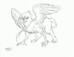 Gilda the Griffin by Katsuna27